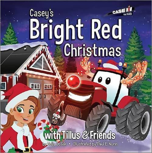 Casey's Bright Red Christmas {Book Review}