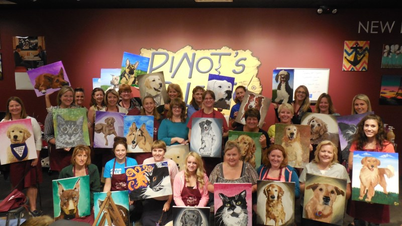 Pinot's Palette® Rochester Hills to Host a fundraiser on February 28th , Benefitting Leader Dogs for the Blind