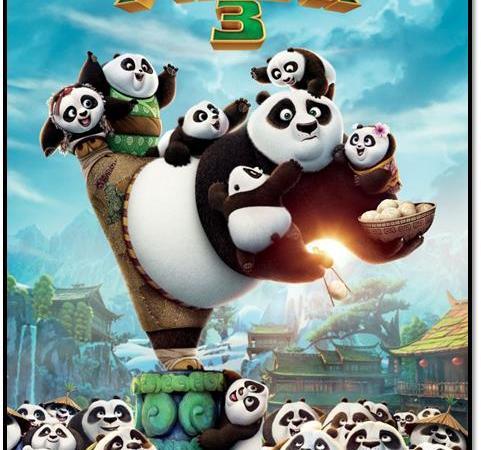 Kung Fu Panda 3 {Review}
