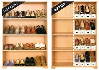 Innovative Shoe-Stacking Storage Units That Double Your Space #ShoeSlotz