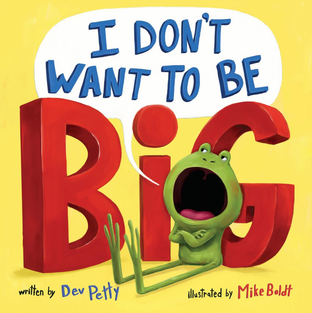 Don't Want to Be BIG – Book Review