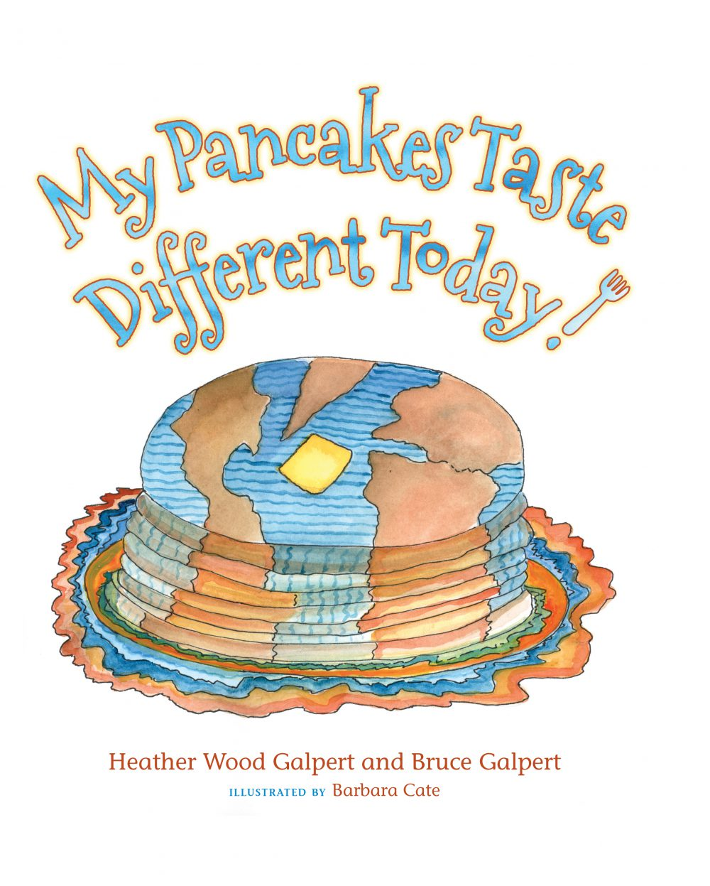 My Pancakes Taste Different Today! – Book Review