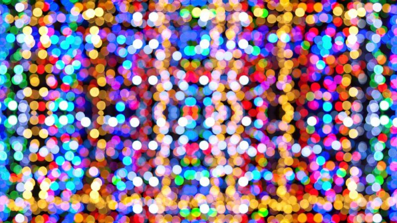 Drive Through Christmas Lights Displays