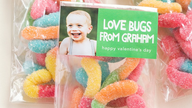 Kids' #DIY Classroom Valentine Project – Bear Hugs & Love Bugs