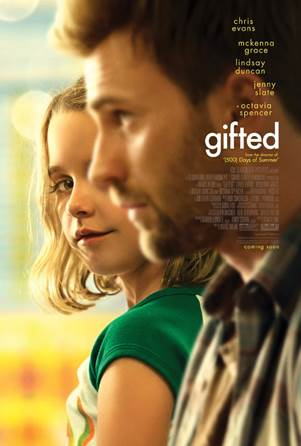 "5 Family 4 Packs Available to Advanced Screening of ""Gifted""-Metro Detroit (Livonia) #Giveaway Ends 3/25 #GiftedMovie"