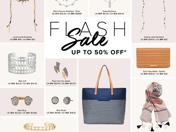 Save up to 50% with Stella & Dot's #FlashSale! Ends 3/15