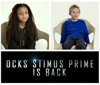 Kids Explain Transformers, with Help from Optimus Prime! – #Transformers: The Last Knight