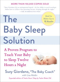 The Baby Sleep Solution Jacket Art