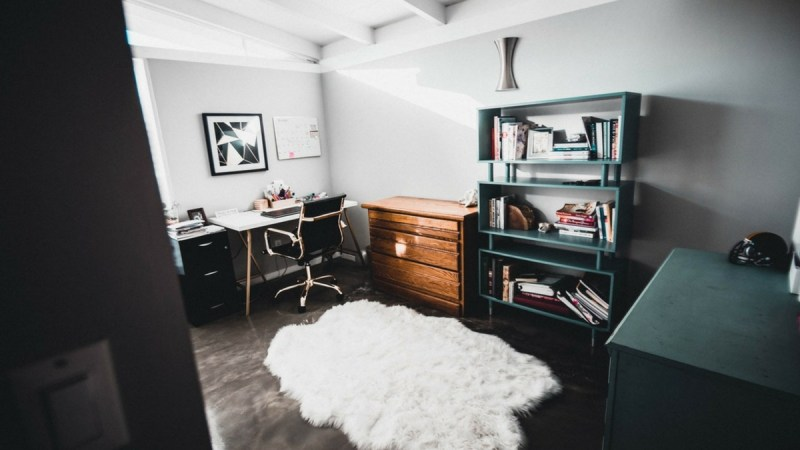 Intertwining: Home Office and Limited Living Space {Guest Post}
