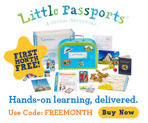 First Month Free When you Buy a 6 Month or 12 Month Subscription-Little Passports #Ad #AffiliateLink