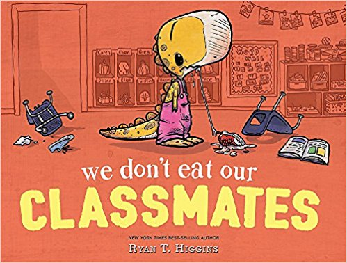 We Don't Eat Our CLASSMATES! {Book Promotion}