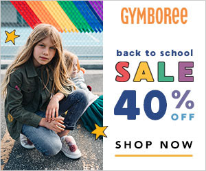 Gymboree: 40% Off Back to School! Ends 9/1/18