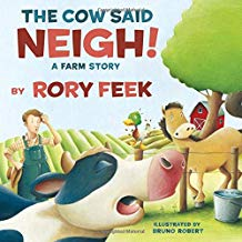 The Cow Said NEIGH! By Rory Feek {Book Promotion}