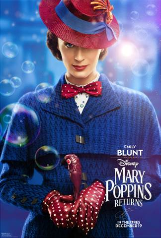 Sneak Peek from Disney's MARY POPPINS RETURNS!!!