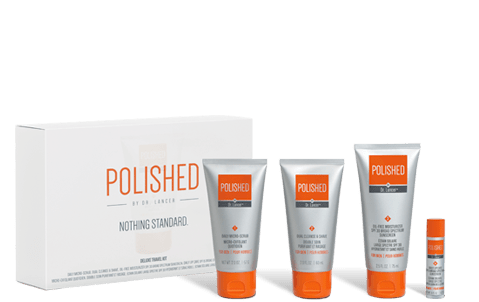 The Deluxe Travel Kit for Men….Polished by Dr. Lancer & Ryan Seacrest-Review
