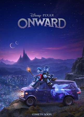 "Disney and Pixar's ""Onward"" Reveals Teaser Trailer…#PixarOnward"