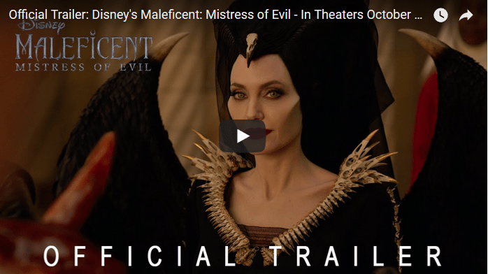 "NEW TRAILER: Disney's ""#Maleficent"": Mistress of Evil"" Starring Angeline Jolie, Elle Fanning, & Michelle Pfeiffer Now Available!"