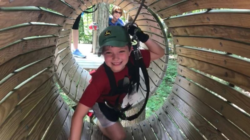 Frankenmuth Aerial Park {Review}