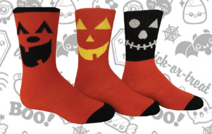 Scare Up Extra Smiles This Halloween With New SCARY! SOX Line Of Frighteningly Fun Kids, Tweens, & Women's Socks