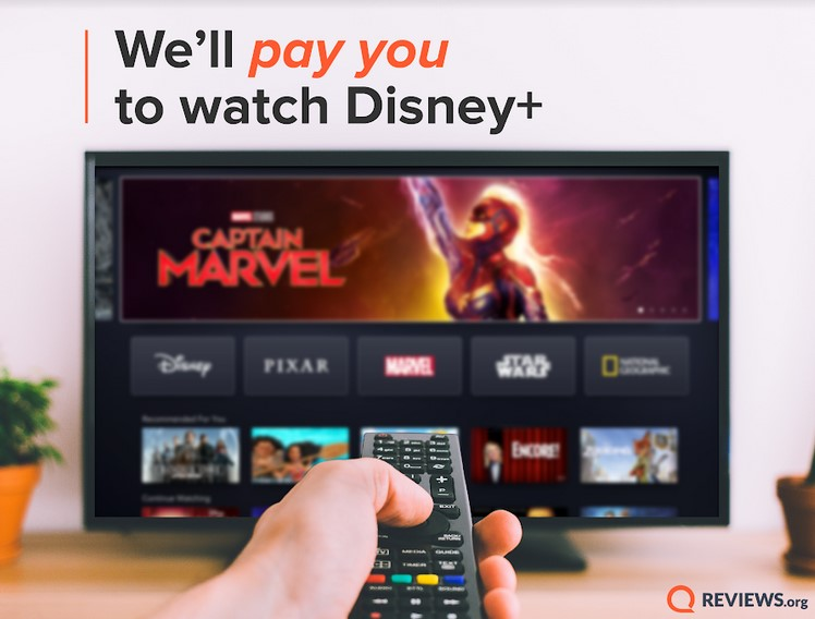 Dream Job: Get Paid $1,000 to Watch Disney+ with Your Family!