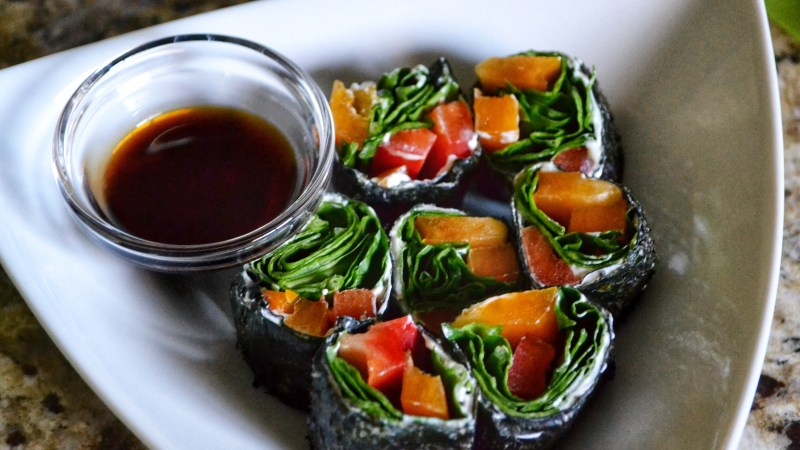 Low Carb Vegetable Rolls Recipe