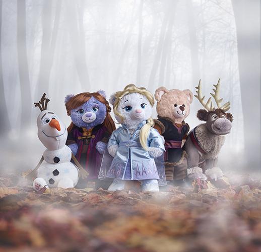 Build-A-Bear Workshop® Celebrates Disney Frozen 2 Movie with Inspired Furry Friends