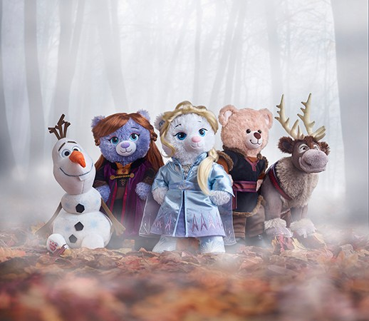 Build-A-Bear Workshop® Celebrates Disney Frozen 2 Movie with Inspired Furry Friends
