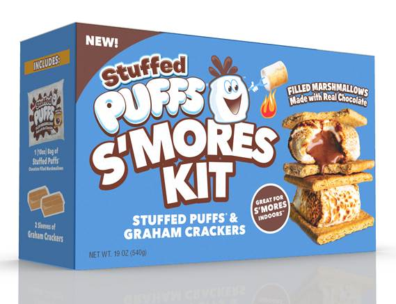 Stuffed Puffs S'Mores Kit-Great for Indoors Too!-Review