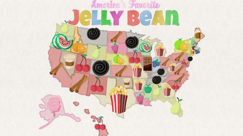 America's Favorite Jelly Bean