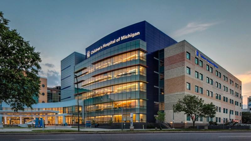 Detroit children's hospital of Michigan