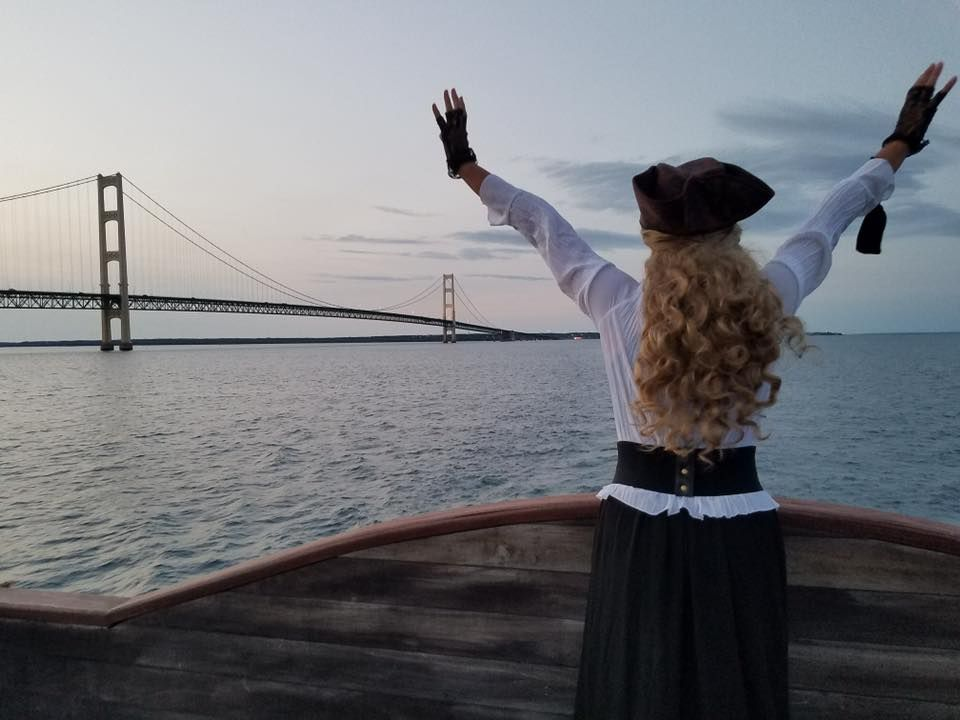 Aye, Aye, Captain! First-Ever Great Lakes Pirate Festival to Take Place in Mackinaw City