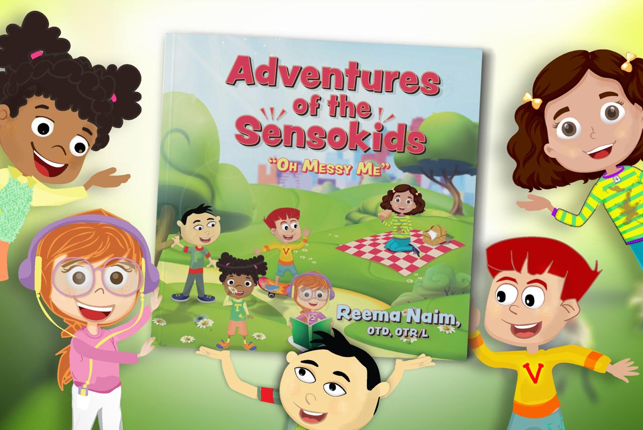 "Adventures of the Sensokids ""Oh Messy Me"" – Book Promotion"