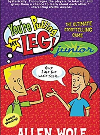 You're Pulling My Leg! Junior – Book/Game Promotion