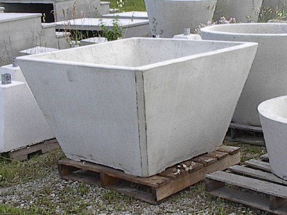 Large Square Planter   Michigan Precast Large Square Planter