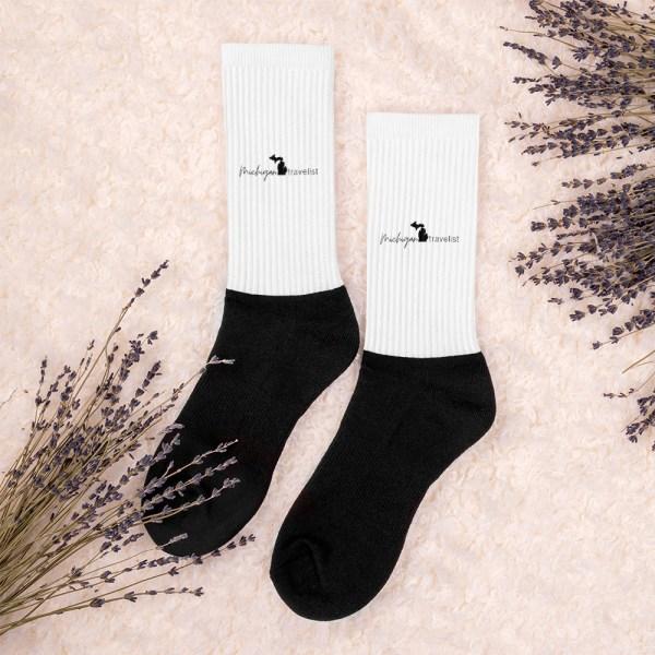 Michigan Travelist Socks