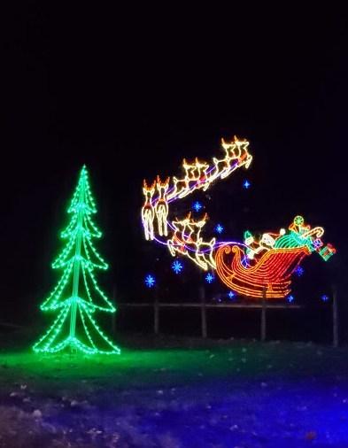 Christmas Light Show Michigan Travelist Blog