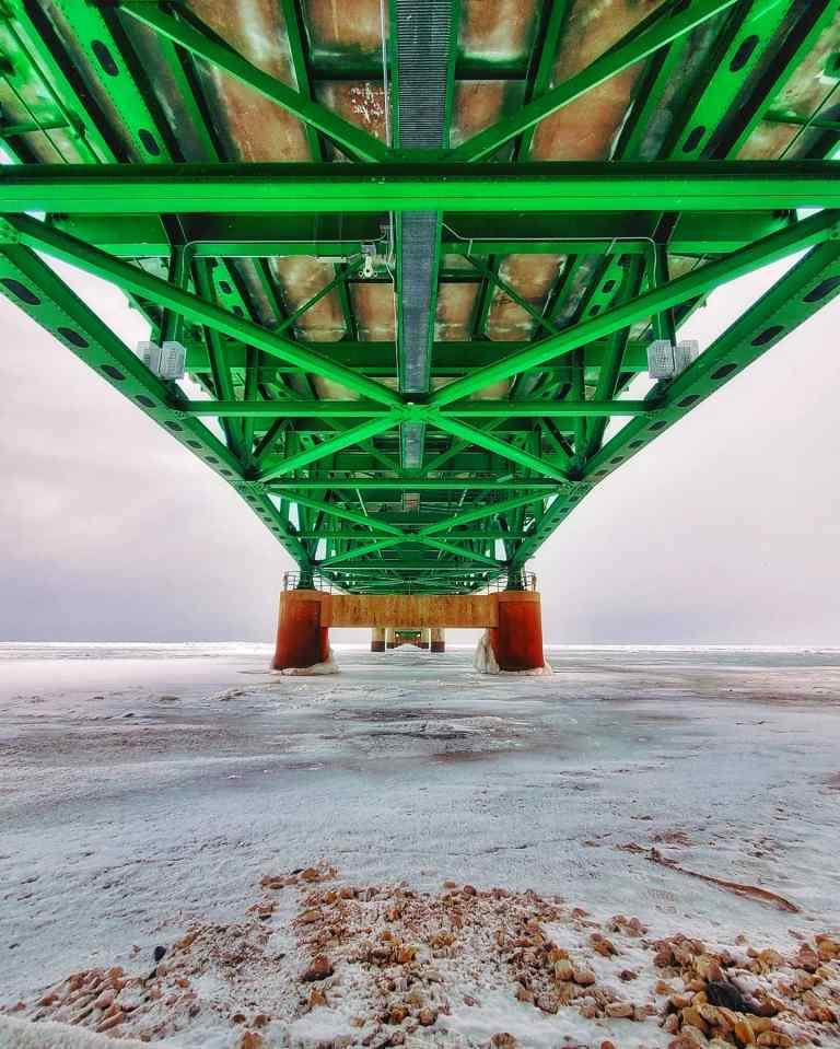 Mackinac Bridge - Mighty Mac - Michigan Travelist