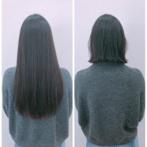 表参道 ボブ専門美容師が教える、黒髪でも重くない、外ハネボブのコツ!