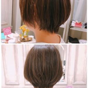 ショートカットは、直毛でくせがない【良い髪質】の方が難しい。けど、、