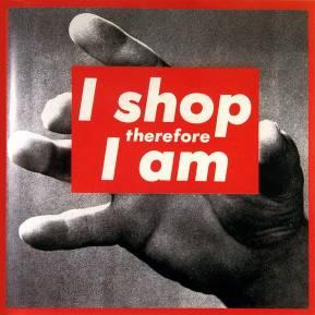 Barbara Kruger - I Shop Therefore I Am (I) (1987) (arthistoryarchive.com)