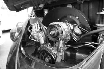 Motor des schwarzen Blitz