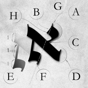 Lettre ALEF sur klaf 1_1