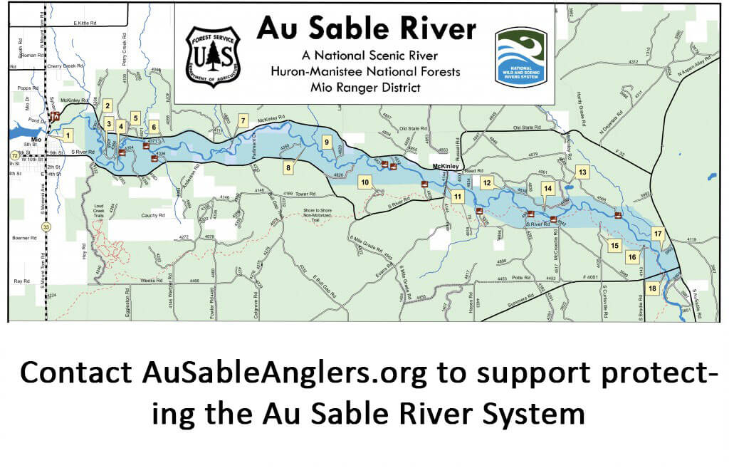 Au Sable River is Under Attack