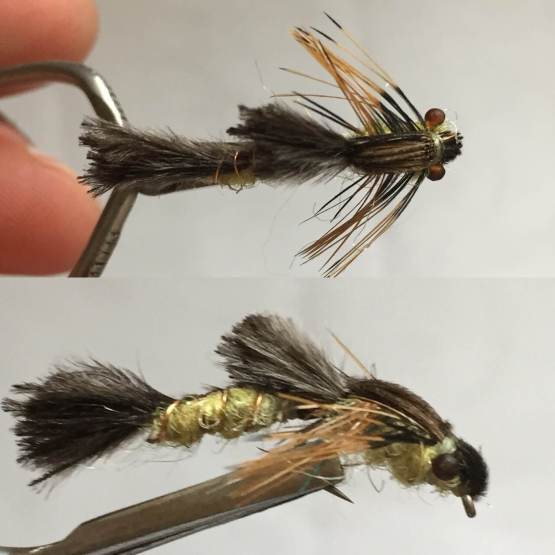 Wiggle Hex Nymph