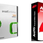 Avast ! ou/vs Antivir lequel prendre ?