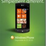 Windows Phone 7 sortira officiellement le 21 octobre 2010 en France