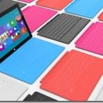 Annonce d'une indication des prix de la future tablette Surface de Microsoft