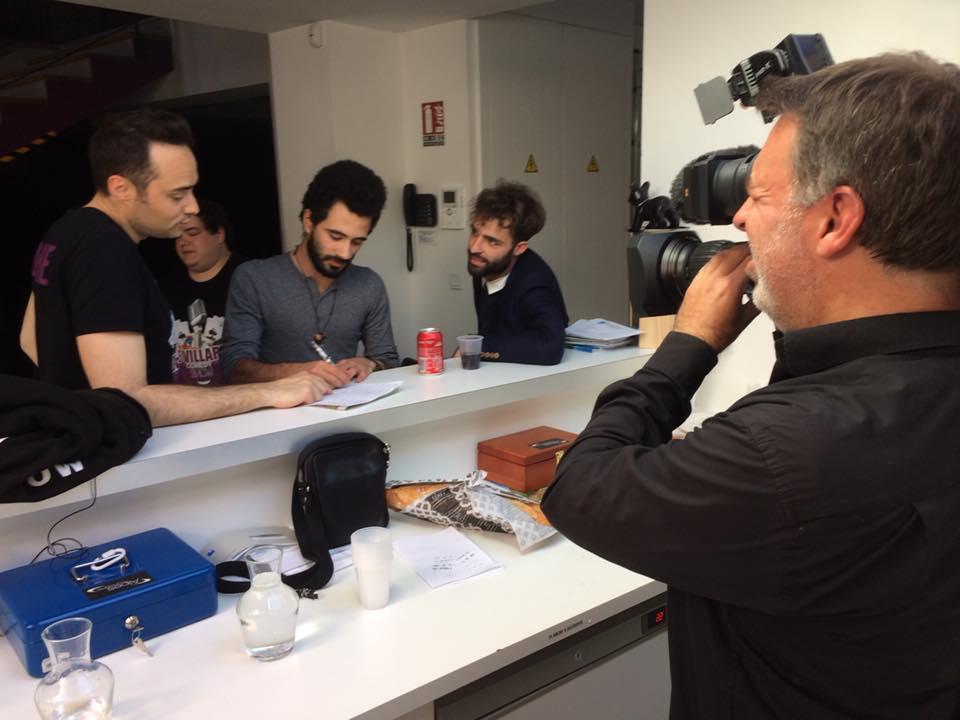 """Reportage France 3 """"Les coulisses des humoristes"""""""