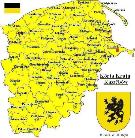 kaszuby mapa