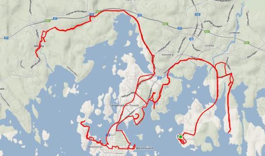 Karlskrona - Żółwik ride